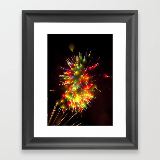 Efflorescence 10 Framed Art Print
