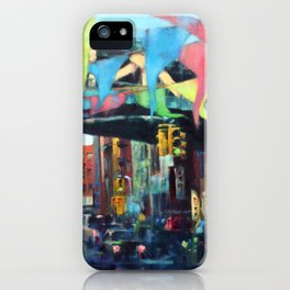 East Broadway Under the Manhattan Bridge iPhone Case