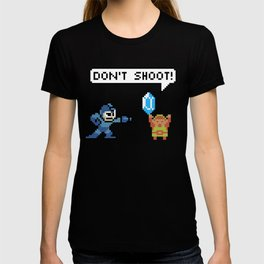 Mega Man Robs Link T-shirt