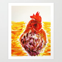 Le Coq Art Print