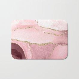 Blush Marble Art Landscape Bath Mat