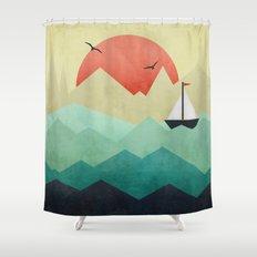 Ocean Adventure Shower Curtain