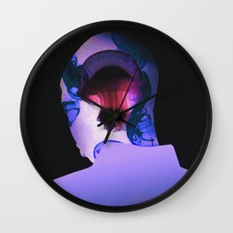 Abysses Wall Clock
