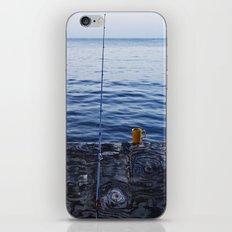 Sunrise Fishing  iPhone & iPod Skin