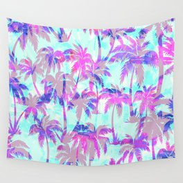 Maui Palm {Pink} Wall Tapestry