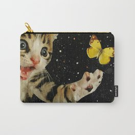 All Across the Universe Chasing Butterflies and Dreams Carry-All Pouch
