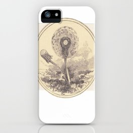 Dandelion Botanical iPhone Case