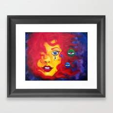 La Madre Sol Framed Art Print