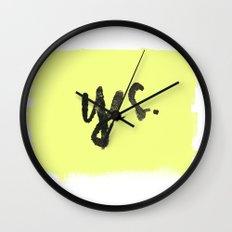 yes. Wall Clock