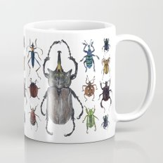 Insect collection (color) Coffee Mug