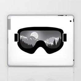 Moonrise Goggles - B+W - Black Frame | Goggle Designs | DopeyArt Laptop & iPad Skin