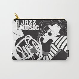 B&W Jazz Music Festival Carry-All Pouch