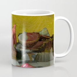 Futuristic 3d Sci-Fi Landscape Digital Art Coffee Mug
