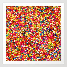 Round Sprinkles Art Print