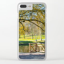 Relaxation Clear iPhone Case