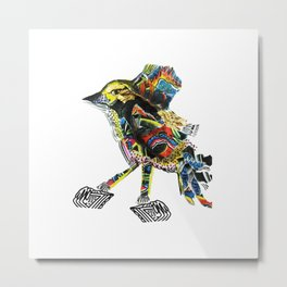 Trivial bird of life Metal Print