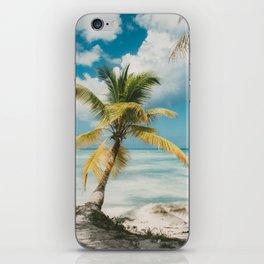 Palm Trees Punta Cana iPhone Skin
