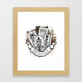 Briscola Framed Art Print