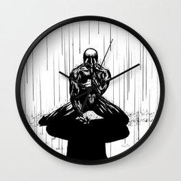 Black Spider-Man Wall Clock