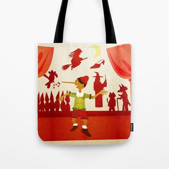 Pinocchio Tote Bag