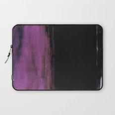Purple and Black Laptop Sleeve
