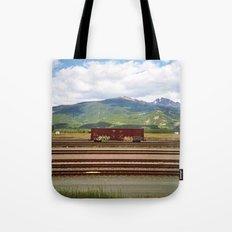 Train Car. Tote Bag