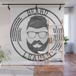 Beard leader Wall Mural