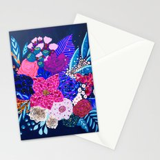 Jewel Bouquet Stationery Cards