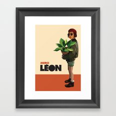 Mathilda, Leon the Professional Framed Art Print