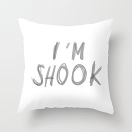 SHOOK Throw Pillow