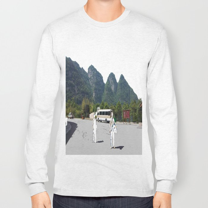 Two Travellers Long Sleeve T-shirt