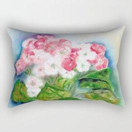 Vaso com flores V (Vase with flowers V) Rectangular Pillow
