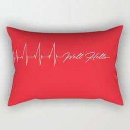 Well Hello Rectangular Pillow
