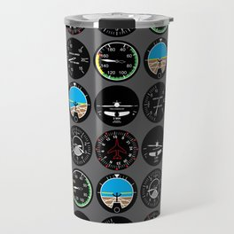 Flight Instruments Travel Mug
