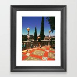 SAN LUIS OBISPO Framed Art Print
