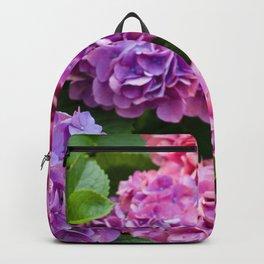 Pink & Purple Flowers Backpack