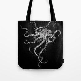 Octopus (black) Umhängetasche