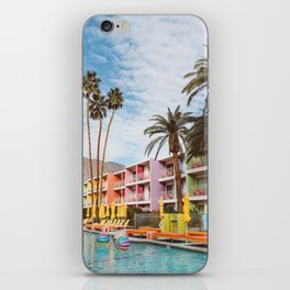 Palm Springs Pool Day VII iPhone Skin