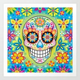 Sugar Skull Art (Jubilee) Art Print