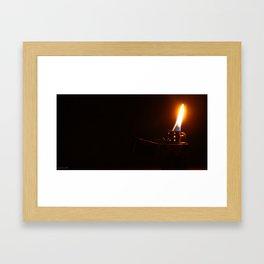 Firestarter Framed Art Print