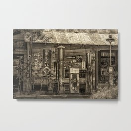 Antiqued Antiques Metal Print