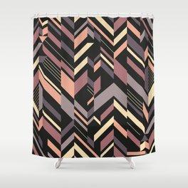 MID CENTURY #1 Shower Curtain