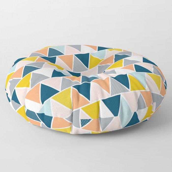 Triangulum Retreat Floor Pillow