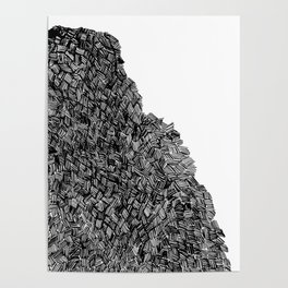 Line Mountain Poster