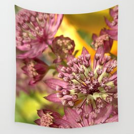 Purple Burst of Flowers 103 Wall Tapestry