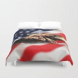 USA Eagle Duvet Cover