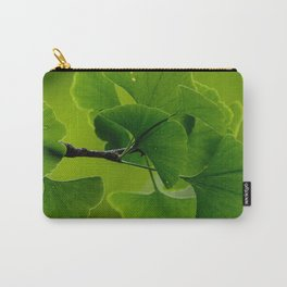 Gingko Biloba leaves Carry-All Pouch