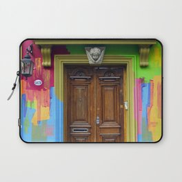 Painted Entrance, Palermo, Buenos Aires Laptop Sleeve