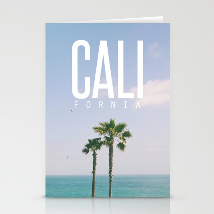 CALI FORNIA Stationery Cards