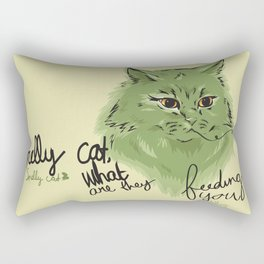Smelly cat Rectangular Pillow